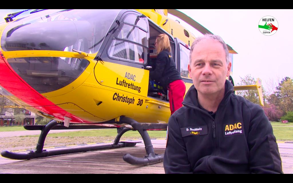 ADAC Pilot Dirk Buchholz schildert seine Erfahrungen