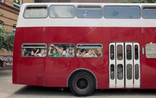 Einer der beiden Oldtimer-Busse des Linie 94 e.V.