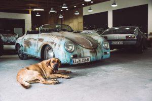 Patina oder Rostlaube? Den Porsche 356 nutzt Oliver Kaps im Alltag